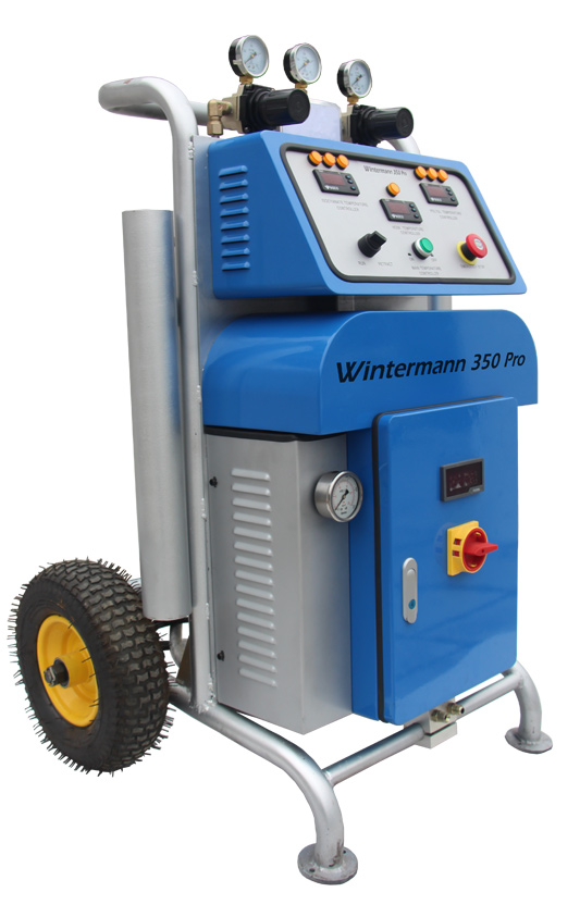 Agregat do spieniania poliuretanu - reactor Wintermann 350 Pro